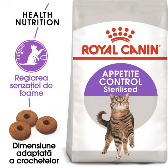 Royal Canin Sterilised Appetite Control Care, 400 g 0