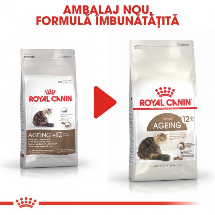 Royal Canin Feline Ageing +12 ani, 2 kg [3]