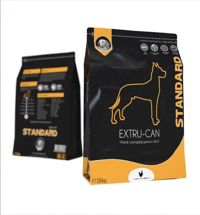 Hrana Uscata Extru-Can Standard, 10 kg [0]