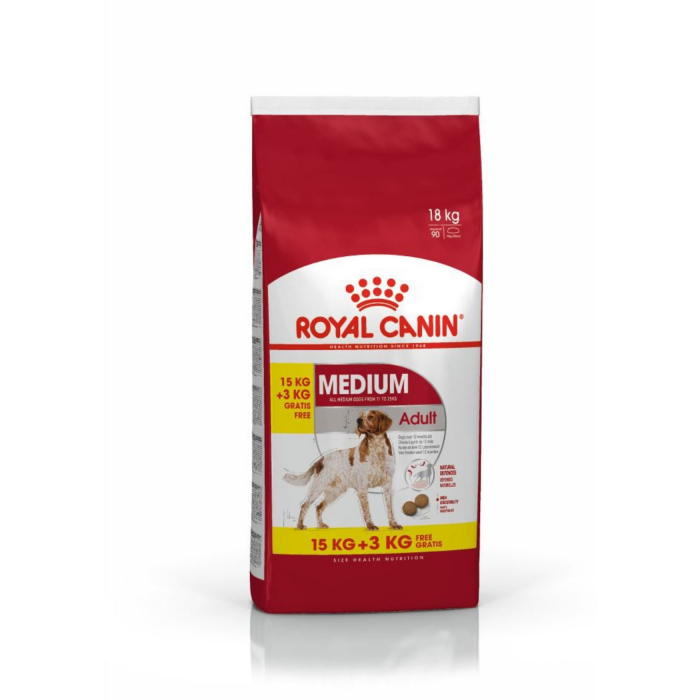 Royal Canin Medium Adult 15 + 3 Kg Gratis [0]