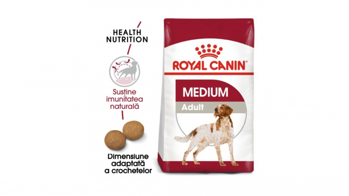 Royal Canin Medium Adult 4 Kg 0