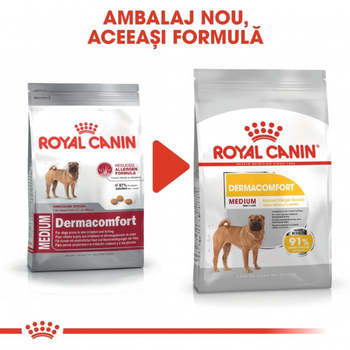 Royal Canin Medium Dermacomfort, hrana uscata - 3 kg [6]