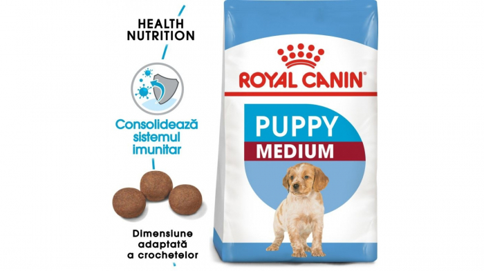 Royal Canin Medium Puppy 4 kg 0