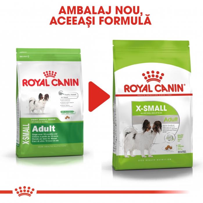 Royal Canin X-Small Adult, hrană uscată câini, 500 g [7]