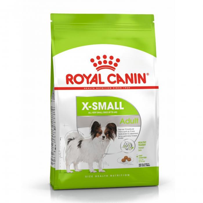Royal Canin X-Small Adult, hrană uscată câini, 500 g [6]