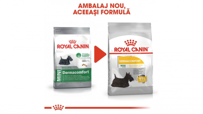 Royal Canin Mini Dermacomfort, 8 kg 1