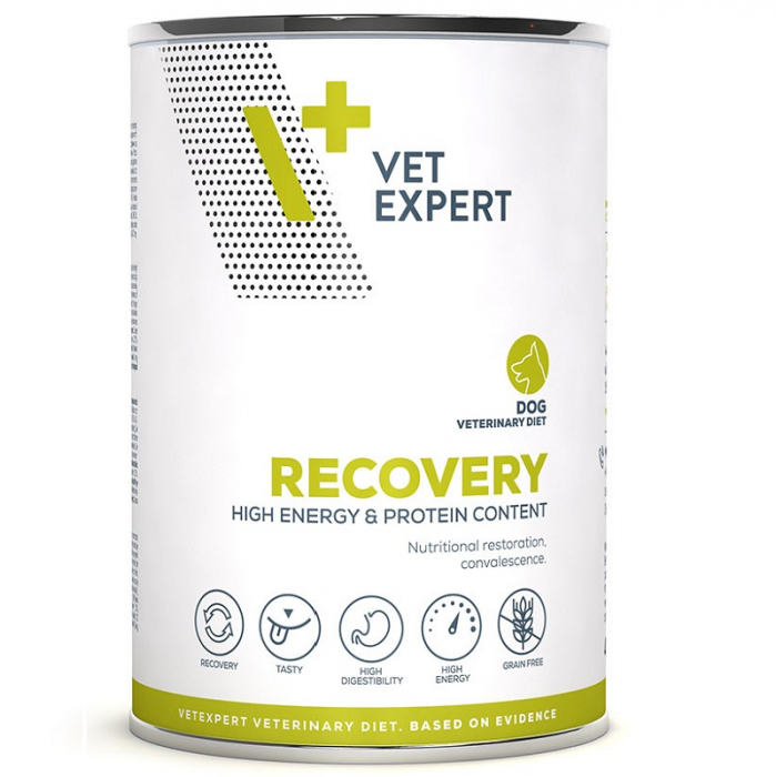 4T- Dieta hrana umeda Recovery dog, 400 g [0]