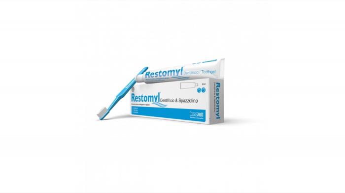 Restomyl, gel dentar cu periuta, 50 ml [0]