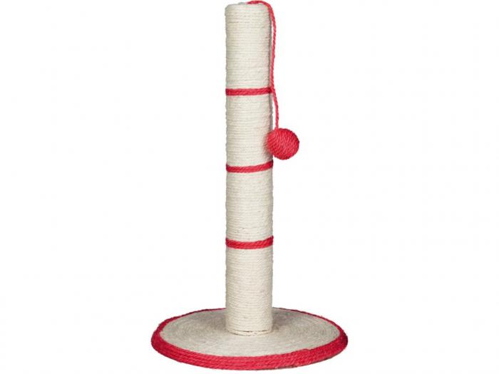 Sisal Plat cu Stalp si Jucarie H50 cm Diametru 31 cm 0