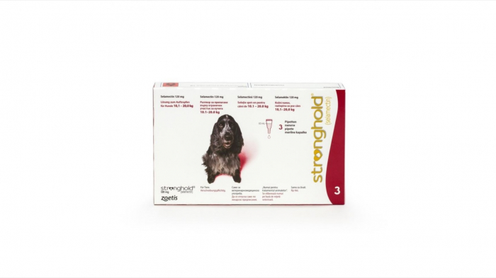 Stronghold Caine 120 mg (10 - 20 kg), 3 pipete [0]