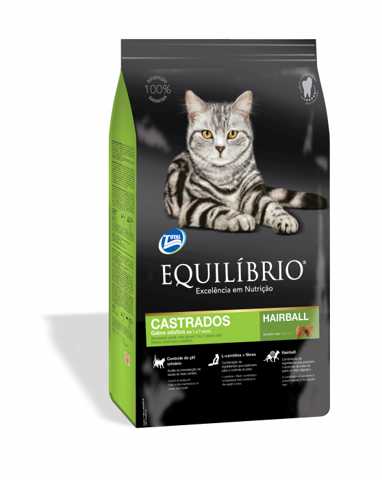 Equilibrio Cats Adult pisici castrate, 7.5 kg 0