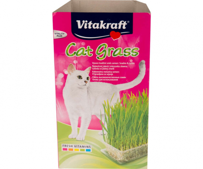 Vitakraft Iarba Pisicii, 120 g 0