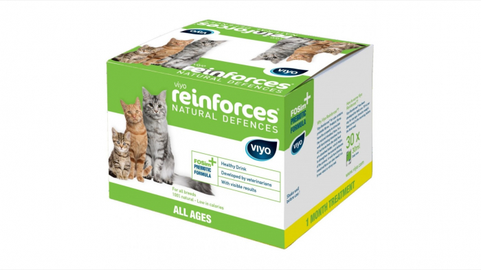 Viyo Reinforces for Cats All Ages, 7 x 30 ml 0