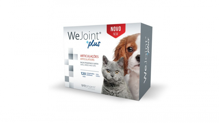 WeJoint Plus Small Breeds and Cats, 120 tablete 0