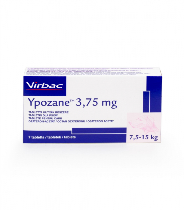Ypozane 3.75 mg / 7,5-15 kg, 7 tablete 0