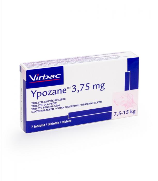 Ypozane 3.75 mg / 7,5-15 kg, 7 tablete 1