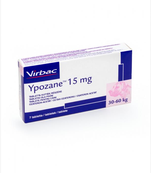 Ypozane 15 mg / 30-60 kg, 7 tablete 1