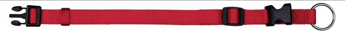 Zgarda Chinga Clasic Reglabil 35-55 cm/20 mm Rosu 0