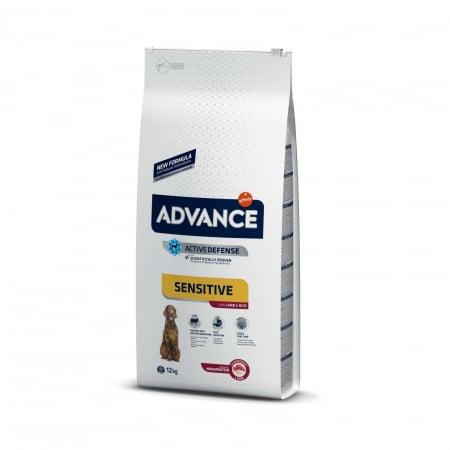 Advance Dog Adult Sensitive Miel si Orez, 12 kg0