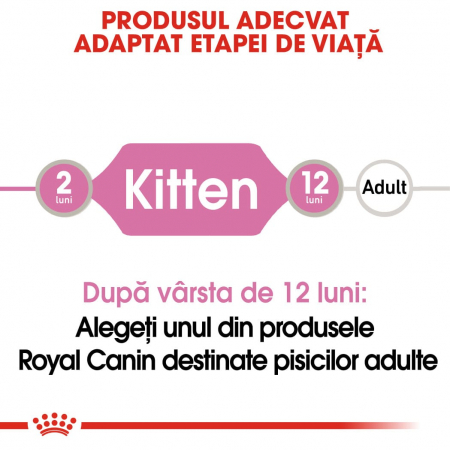 ROYAL CANIN Kitten Instinctive in Gravy Pouch, 12 plicuri x 85 g [1]