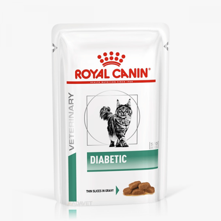 Royal Canin Diabetic Cat,12 plicuri X 85g0