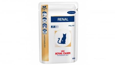 Royal Canin Felin Hrana Umeda Renal cu Pui  12x85 g0