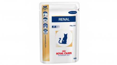 Royal Canin Felin Hrana Umeda Renal cu Pui 85 g0