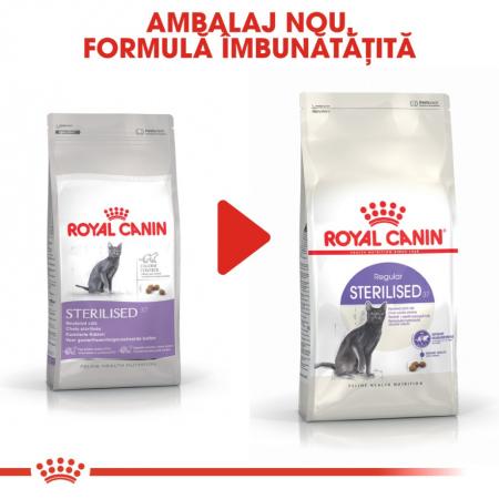 Royal Canin Feline Sterilised 37, 2 kg4