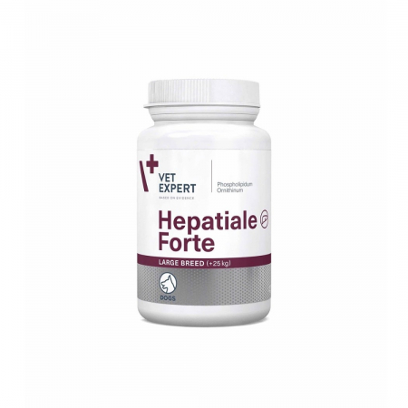 Hepatiale Forte Large Breed 550 mg - 40 Tablete0