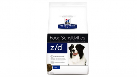 Hill's PD z/d Food Sensitivities hrana pentru caini hipoalergenica 10 kg0