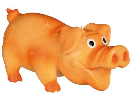 Jucarie Porc Latex cu Tepi 10 cm cu Sunet2
