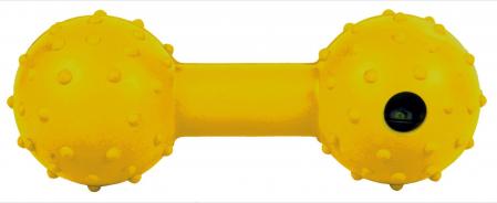Jucarie Os cu Clopotel Cauciuc Natural 12.5 cm3