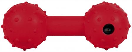Jucarie Os cu Clopotel Cauciuc Natural 12.5 cm1