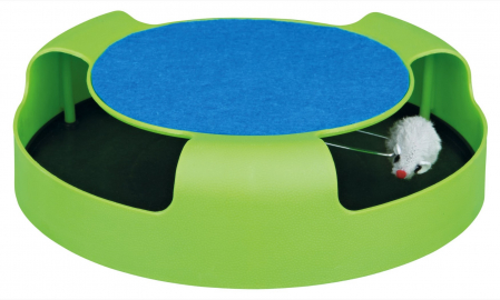 Jucarie Pisici-Circuit cu Soarece 25x6 cm2