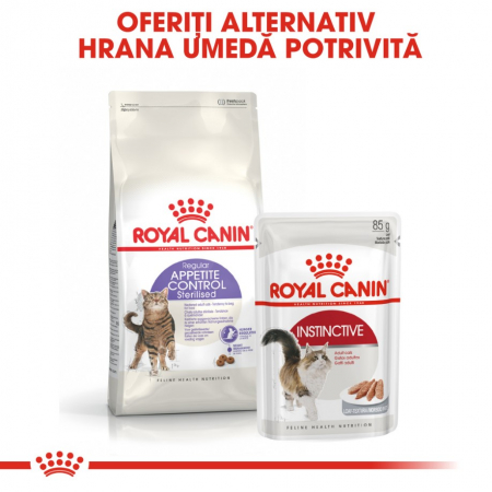 Royal Canin Sterilised Appetite Control Care, 400 g6