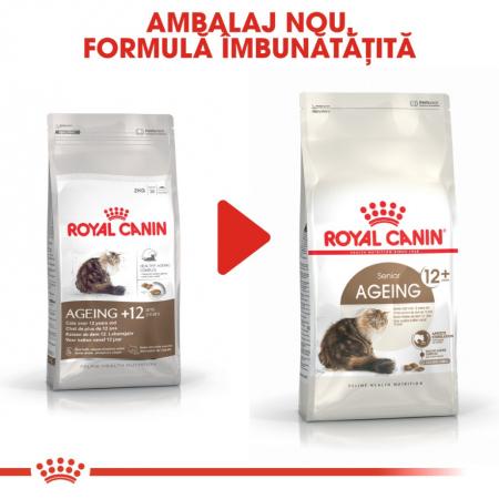 Royal Canin Feline Ageing +12 ani, 4 kg [3]