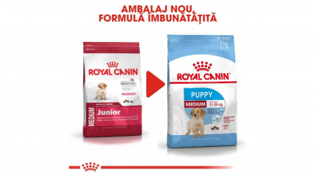 Royal Canin Medium Puppy 4 kg1