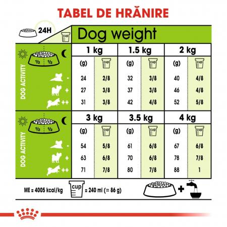 Royal Canin X-Small Adult, hrană uscată câini, 500 g [3]