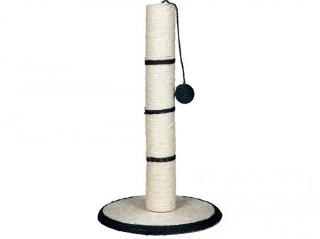 Sisal Plat cu Stalp si Jucarie H50 cm Diametru 31 cm [1]