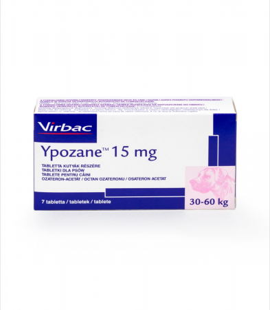 Ypozane 15 mg / 30-60 kg, 7 tablete0