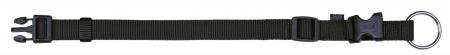 Zgarda Chinga Clasic Reglabil 35-55 cm/20 mm Negru [0]