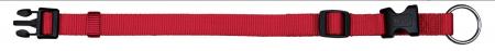 Zgarda Chinga Clasic Reglabil 35-55 cm/20 mm Rosu0