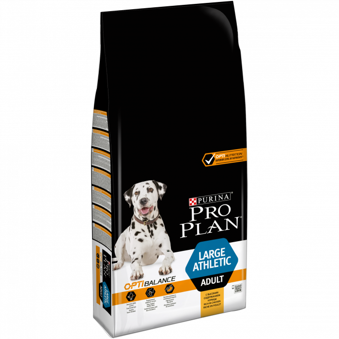 PURINA PRO PLAN Dog Large Adult Athletic Rich in Chicken 14 kg 0