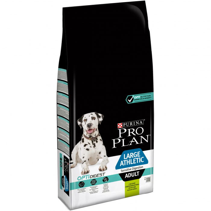 PURINA PRO PLAN Dog Large Adult Athletic Sensitive Digestion Rich in Lamb 14 kg 0