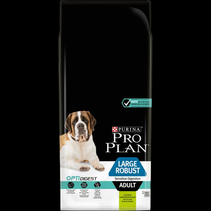 PURINA PRO PLAN Dog Large Adult Robust Sensitive Digestion Rich in Lamb 14 kg 0