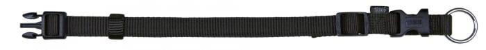 Zgarda Chinga Clasic Reglabil 30-45 cm/15 mm Negru 14211 0