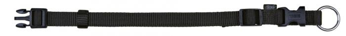 Trixie Zgarda Chinga Clasic Reglabil Negru 30-45 cm/15 mm [0]