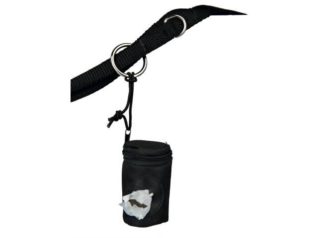 Dispenser pungi igienice Trixie nylon / poliester include pungi pentru caini 22841 0