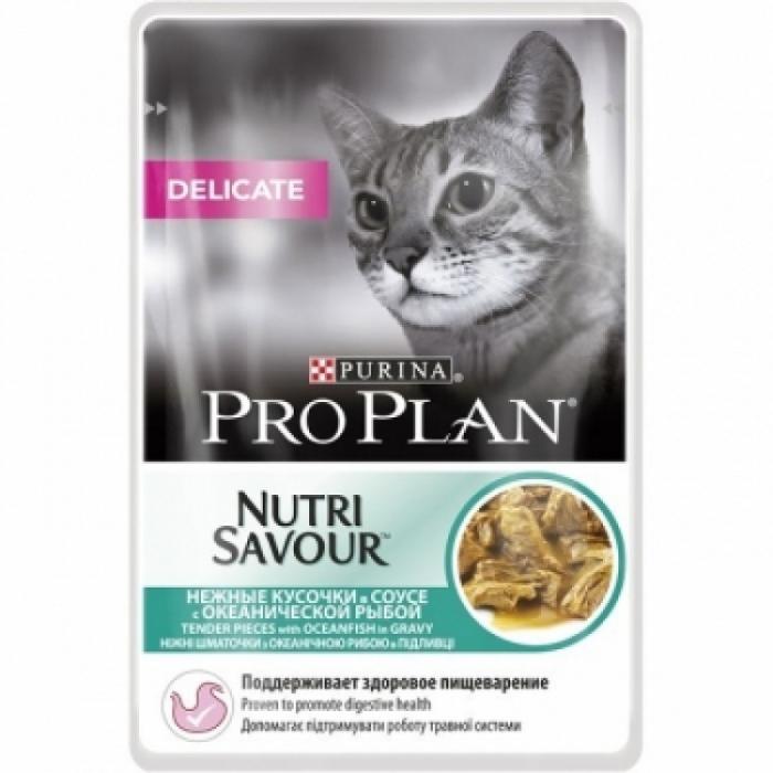 Purina Pro Plan Cat Delicate Peste 85 g 0