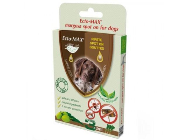 Picaturi- Spot On Dog Large Bio 3x3 ml Antiparazitar  Ecto Max 0